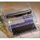 The 2410CC Clear Cabinet Electronic Typewriter